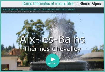 video thermes Chevalley Aix Les Bains